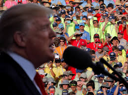 trump riffs to boy scouts about real estate developer william