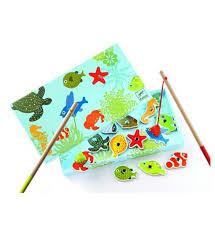 jeux de société cuisine djeco la pêche tropicale jeux jouets jeux de société cuisine en bois