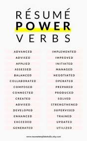 advanced resume writing tips resume power verbs and resume tips to boost your resume business