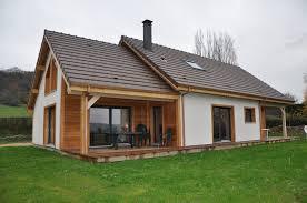 Maison En Bois Cap Ferret Maison Gico En Ossature Bois Avec Finition Extérieure En Crépis Et