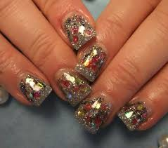 day 350 christmas sparkle nail art nails magazine