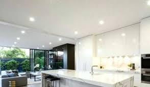 spot plafond cuisine spot led pour faux plafond mix of led light and pot lights installed