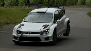 volkswagen polo body kit jari matti latvala test germany 2014 volkswagen polo r wrc youtube