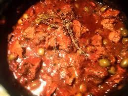 cuisine corse veau aux olives veau aux olives défi cucina corsa