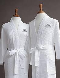 wedding gift hers luxor linens luxury bath robe cotton his