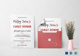 family invitation designs u0026 templates in word psd publisher
