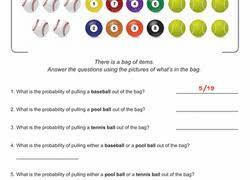 probability worksheets u0026 printables education com