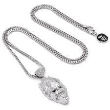 white necklace gold images Officially licensed white gold 3d joker necklace hip hop jpg