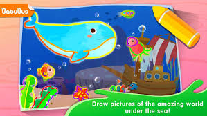 si e auto babybus baby panda s drawing book painting for app su play