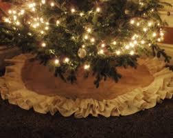 wonderful decoration rustic tree skirt etsy