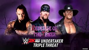 wwe 2k16 ps4 british bulldog vs x pac vs rikishi full match wwe 2k16 undertaker vs undertaker u002799 vs undertaker u002701