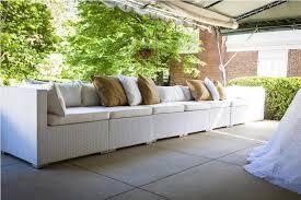 modern white wicker patio furniture outdoor furniture change