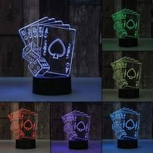Decorative Led Lights For Homes Online Get Cheap Playing Cards 3d Aliexpress Com Alibaba Group