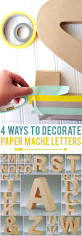 burlap covered letters best 25 paper mache letters ideas only on pinterest paper mache