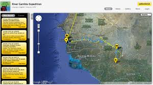 Gambia Africa Map by River Gambia Expedition 2012 1000km Source To Sea Africa Odyssey