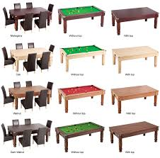 Pool Table Dining Table by Pool Dining Table