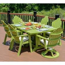 Bar Height Patio Table And Chairs by Berlin Gardens Rectangular 44 X 72 In Table Dining Counter Or