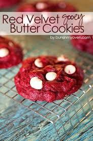 red velvet gooey butter cookies recipe gooey butter cookies