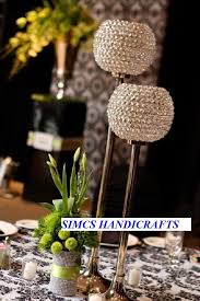 Lamp Centerpieces For Weddings by Crystal Globe Votive Tealight Candle Holders Wedding Event