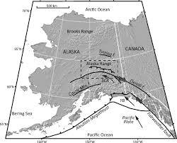 Girdwood Alaska Map by The Quaternary Thrust System Of The Northern Alaska Range