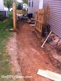 do it yourself paver patio paver path hard work but worth every sore muscle the diy village