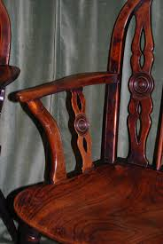 Windsor Armchairs Pair Of Georgian Yew Wood Windsor Armchairs In Chairs U0026 Seating