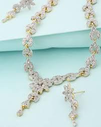 golden necklace women images Buy designer necklace sets golden necklace set for women online jpg