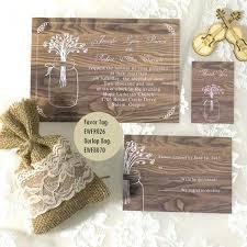 cheap rustic wedding invitations fresh cheap rustic wedding invitations for rustic jars and
