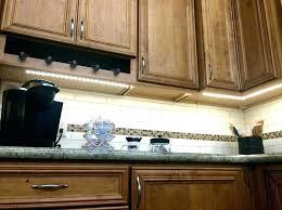 Kitchen Counter Lights Led Vs Fluorescent Cabinet Lighting Inside Kitchen Cabinet