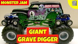 grave digger monster truck merchandise giant grave digger monster jam truck youtube