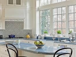 Blue Tile Kitchen Backsplash Kitchen Backsplash Ideas For Granite Countertops Hgtv Pictures