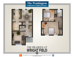 property floor plans the prairies at 5924 hickam drive dayton oh the properties at