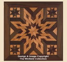 scroll saw wall wood quilt square pattern 1