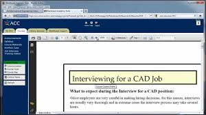 Cad Technician Dftg 1491 Interviewing For A Cad Job Youtube