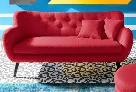 sofa bezugsstoffe inosign 3 sitzer im retro style retro style