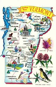 usa map vt 81 best vintage usa state map postcards images on post