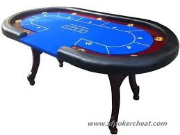 Used Poker Tables by Casino Cheating Devices Wooden Square Poker Table For Gamble Trick