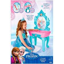 Toy Vanities Disney Princess Frozen Vanity Table Disney Frozen Best Toys