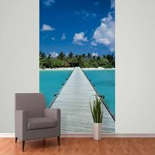 Ocean Wall Murals by 1 Wall Mural Photo Giant Wallpaper Paper Poster Living Room