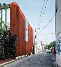 industrial design exterior exterior industrial with vine steel trellis