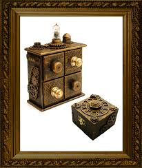 doktress melange steampunk jewellery accessories home decor