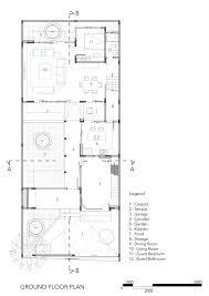 ground floor plan gallery of sunter metro residence atelier cosmas gozali 14