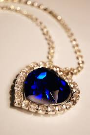 diamond blue necklace images Blue diamond necklace jpg