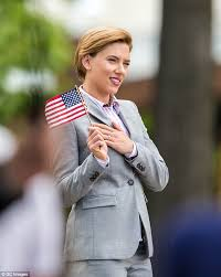 scarlett johansson suits up to film comedy about dead male
