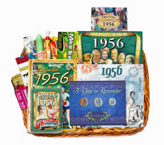 60 birthday gifts personalized 50th anniversary time capsule for 1966 or 1967