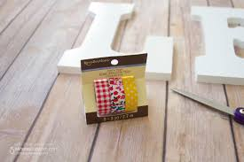 diy washi tape wooden letters 5 minutes for mom