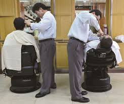 old fashinoned hairdressers and there salon potos the cooling interest in old fashioned hair salons society