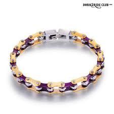 bracelet ladies images Golden cherry ladies chain bracelets born2rideclub jpg