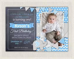 boys first birthday invites
