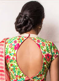 back hooks 20 beautiful back hook blouse designs